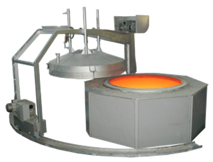 печь шахтная для термообработки